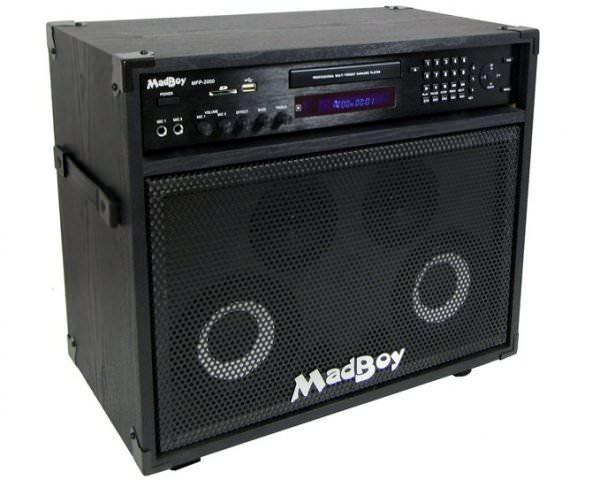 Караоке-центр Madboy® MINI MANIAC для помещения 20м2, 50W