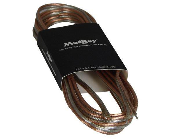 Акустический кабель бесцветный Madboy® FLATTY 15 м