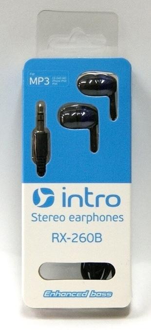 Наушники Intro RX-260B (Синие)