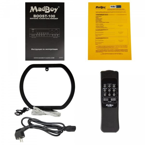 Madboy® Boost-100 микшер-усилитель