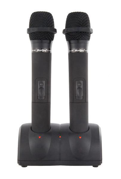 Madboy U-TUBE 20R (выставочный образец) база с двумя беспроводными перезаряжаемыми микрофонами