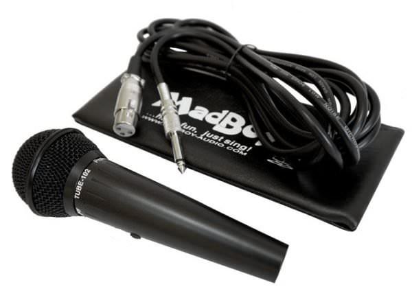 Madboy® TUBE-102 микрофон проводной динамический