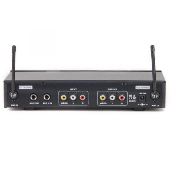 Madboy® U-REMIX микшер с двумя беспроводными микрофонами
