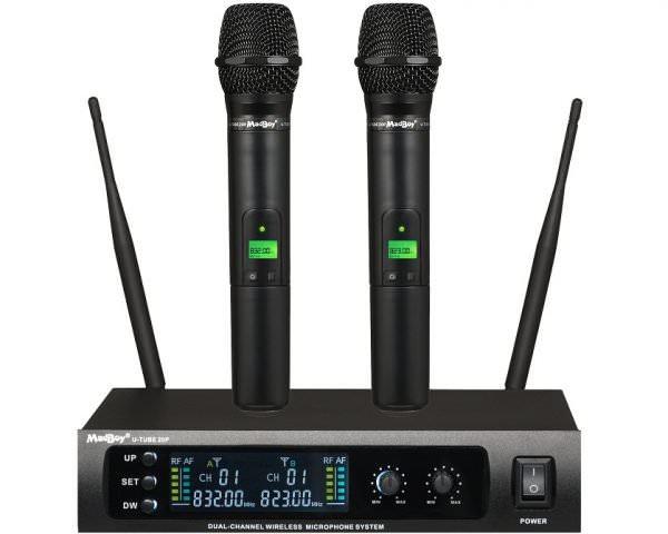 Беспроводные вокальные микрофоны Madboy® U-TUBE 20P