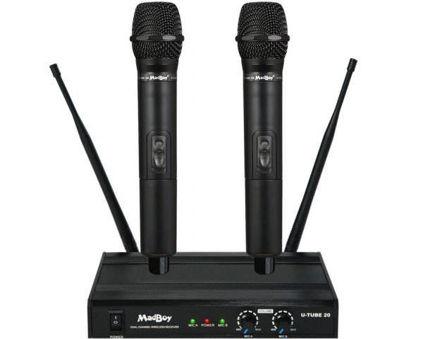 Комплект беспроводных микрофонов Madboy® U-TUBE 20
