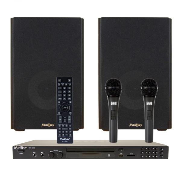 Madboy ДОМАШНИЙ c Bluetooth комплект караоке для помещения 20м2