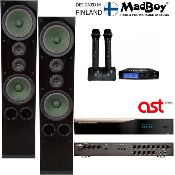 Маэстро + AST 50 комплект караоке для помещения 40м2