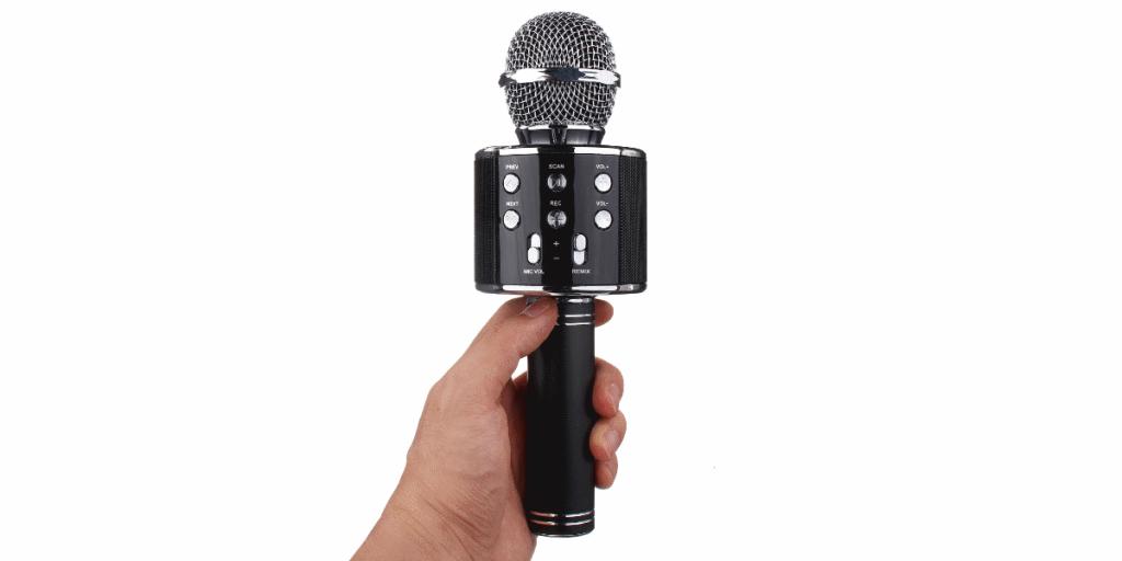 USB караоке микрофоны