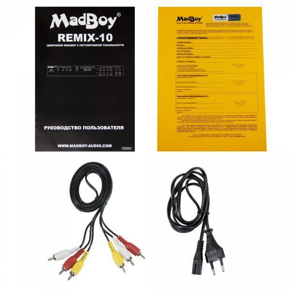 Madboy REMIX-10 микшер с регулировкой тональности