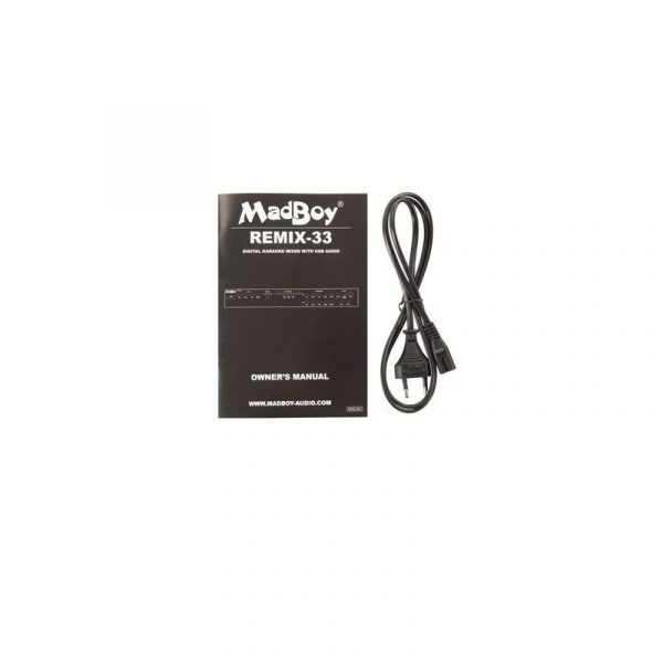 Madboy REMIX-33 караоке система для онлайн караоке
