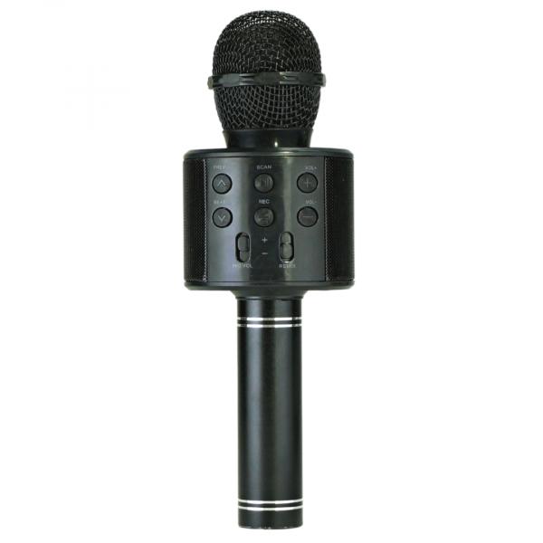 Беспроводной микрофон WS-858 (цвет чёрный) с функцией караоке