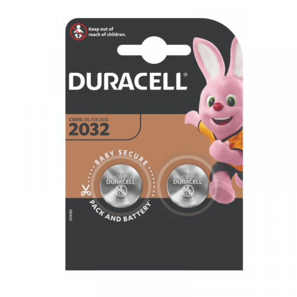 Батарейки DURACELL CR2032-2BL