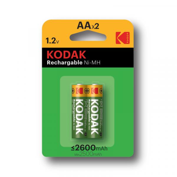 Аккумуляторы KODAK HR6-2BL 2600MAH