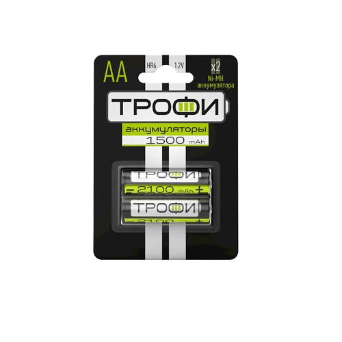 Аккумуляторы ТРОФИ HR6-2BL 1500MAH