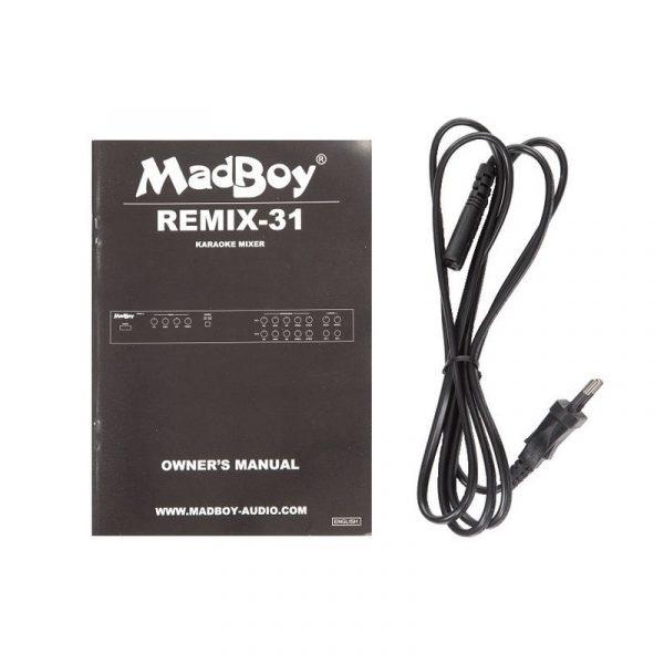 Madboy REMIX-31 микшер для караоке