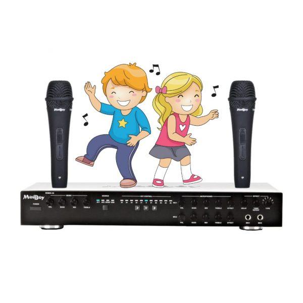 БАЗОВЫЙ комплект звукового оборудования для школы, детского сада