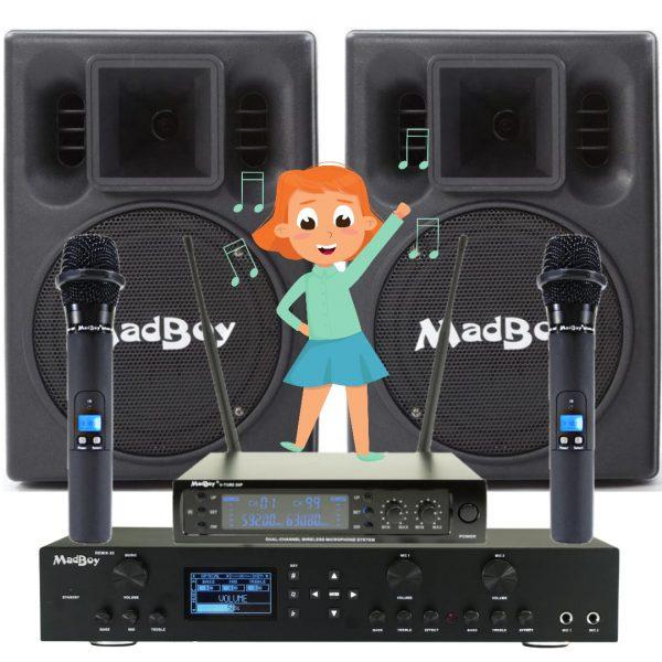 КОНЦЕРТНЫЙ комплект звукового оборудования для школы, детского сада