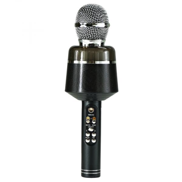 Беспроводной микрофон Q-008 (цвет чёрный) с функцией караоке