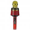 Беспроводной микрофон Q-008 (цвет красный) с функцией караоке